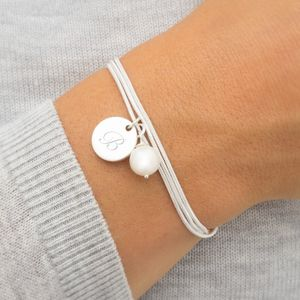 Reena Silver Personalised Bracelet - wedding fashion