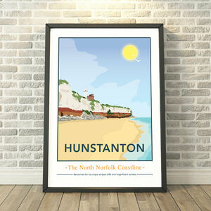 Hunstanton, North Norfolk Print