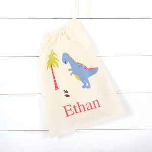 Personalised Dinosaur Children's Storage Bag - what's new