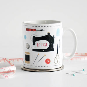 Personalised Sewing Mug