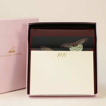 Luxury Butterfly Letter Writing Set