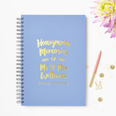 Personalised Honeymoon Memory Book - weddings