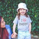 I Love Daddy Kids Short Sleeved T Shirt