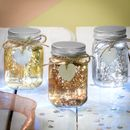 Set Of Three Mini Firefly LED Jars