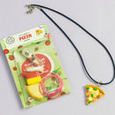 Pizza Themed Jewellery Craft Mini Kit