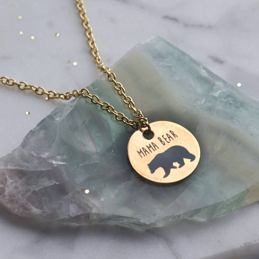 bear necklace bell brin mama and img product of image