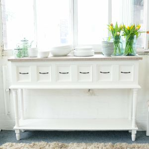 Bayonne Open Shelf Sideboard