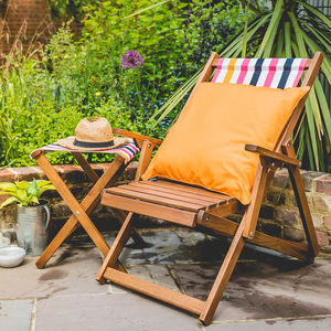 Balcony Deckchair Garden Seat - garden furniture