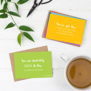 Cards Of Encouragement - notelets & writing paper