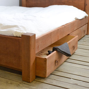 Chunky Wood Underbed Drawer