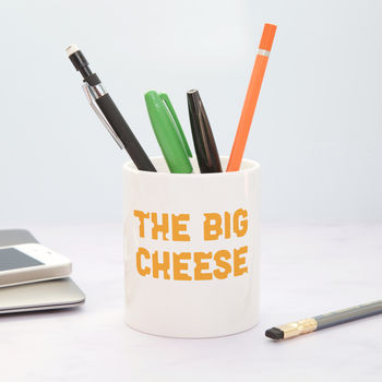 The Big Cheese Desk Tidy
