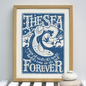 Sea Print - animals & wildlife