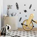 Set Of Mini Rockets Wall Stickers