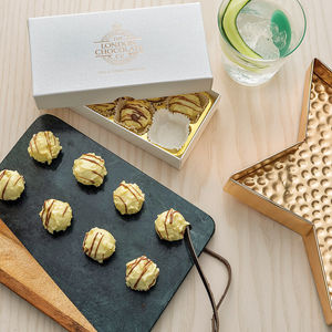 Gin And Tonic Chocolate Truffle Gift Box - love tokens