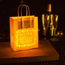 Personalised Happy Birthday Lantern Bag Name
