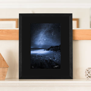 'Midnight Blue' Black Mounted Limited Edition Print - what's new