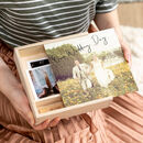 Personalised Wedding Photograph Memory Box