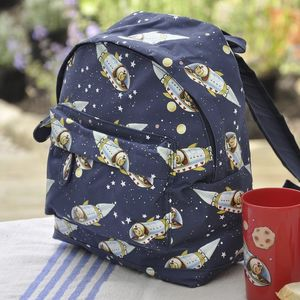Spaceboy Mini Childrens Backpack - bags, purses & wallets