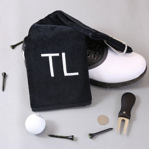 Personalised Golf Towel - housewarming gifts
