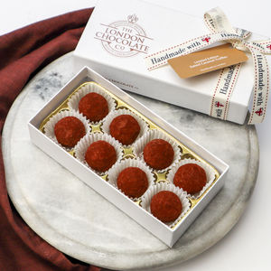 Limited Edition Salted Caramel Truffles Gift Box