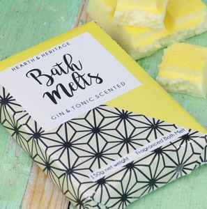 Gin And Tonic Bath Melts - gifts for her