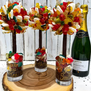 Personalised Haribo Edible Sweet Tree - personalised