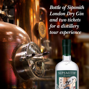 Bottle Of Gin And Distillery Tour Experience For Two - for friends