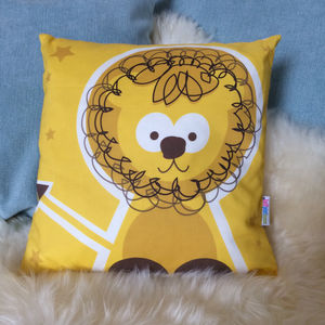 Children's Animal Lion Cushion - what's new