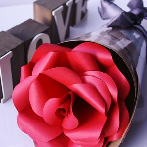 Red Valentine Paper Rose
