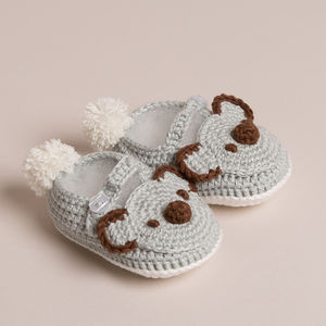 Baby Hand Crochet Crochet Koala Shoes