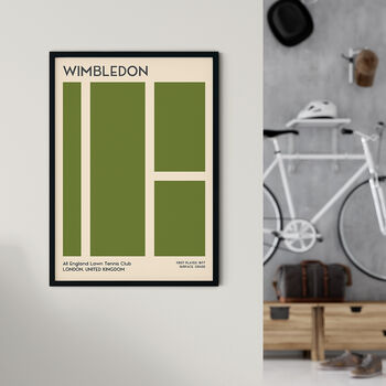 Wimbledon Grand Slam Tennis Print