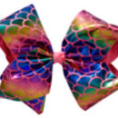Mermaid Bow - Pink