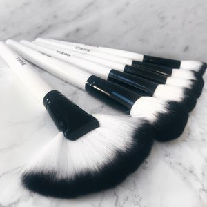 36pc Monochrome Makeup Brush Set - make-up brushes