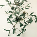 Mistletoe And Pine Cone LED Garland