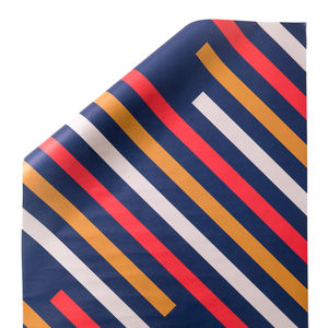Stripes | Gift Wrap X3 Sheets - shop by category