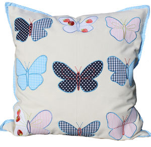 Butterfly Cushion - children's room