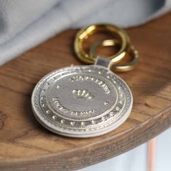 **'Lucky Penny' Coin Inspired Keyring