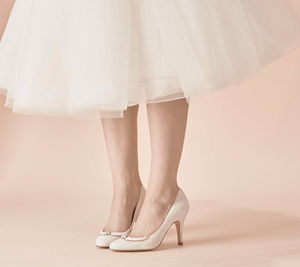 Catherine Suede Wedding Shoes - shoes