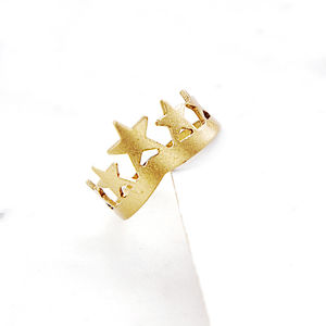 Star Crown Ring - rings