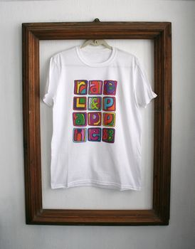 R And P 88 Happy Colours T Shirt