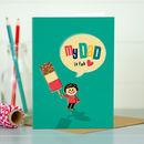 Dad 'Dad Is Fab' Dad Card