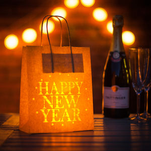 Happy New Year Party Decoration Paper Lantern