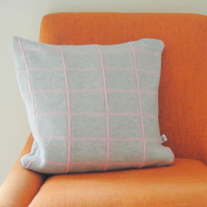 Knitted Cushion - cushions