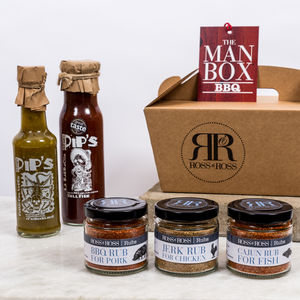 Bbq Man Box - food hampers