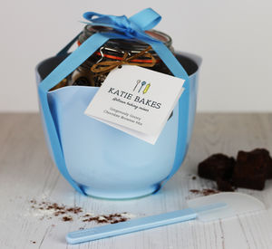 Mother's Day Baking Gift Set With Bowl, Spoon And Mix