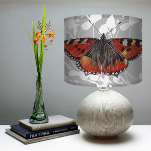 Red Admiral Butterfly Lampshade