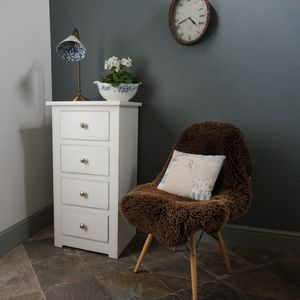 Two Or Three Drawer Compton Bedside Chest - bedside tables