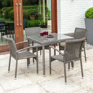 Monte Carlo Square Dining Set