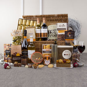 Luxury Christmas Tradition Hamper With Prosecco