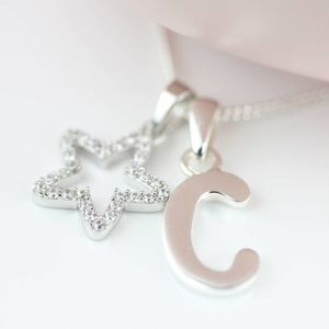 Personalised Children's Star Pendant
